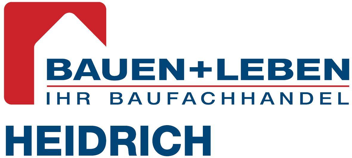 Logo Bauen + Leben HEIDRICH
